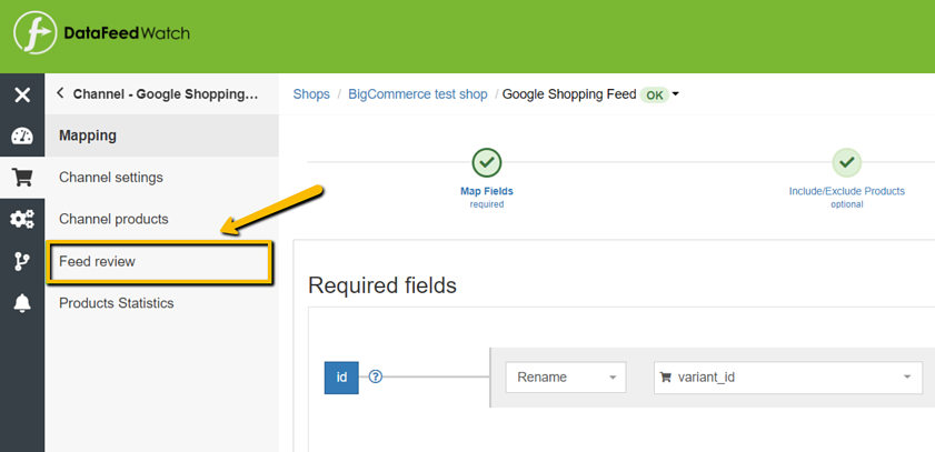 google-shopping-automatic-feed-review